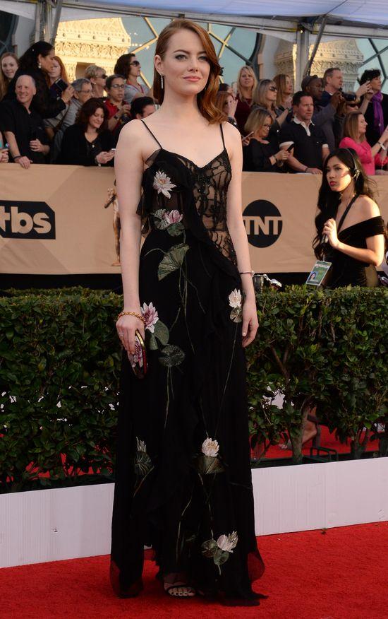Wow! Długo nie zapomnicie kreacji Emmy Stone z gali SAG 2017