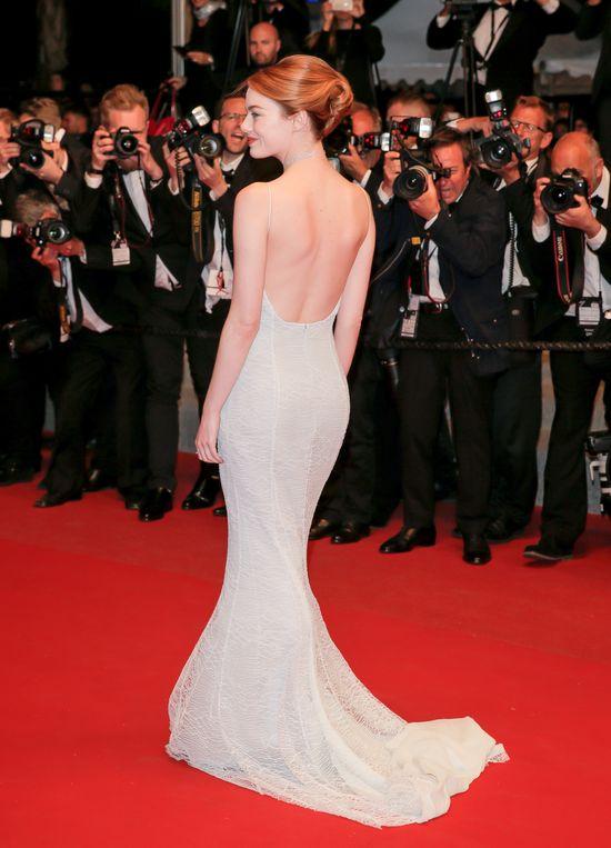 Emma Stone czarowała na czerwonym dywanie festiwalu w Cannes