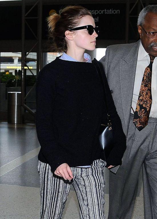 Emma Watson zaliczyła wpadkę (FOTO)
