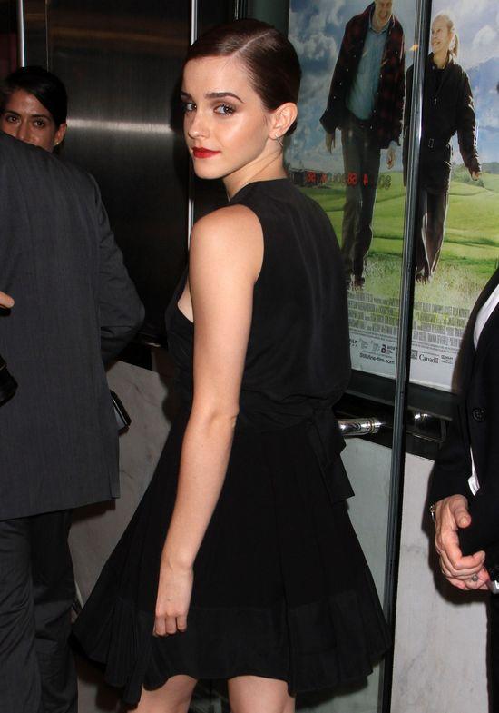 Emma Watson w małej czarnej
