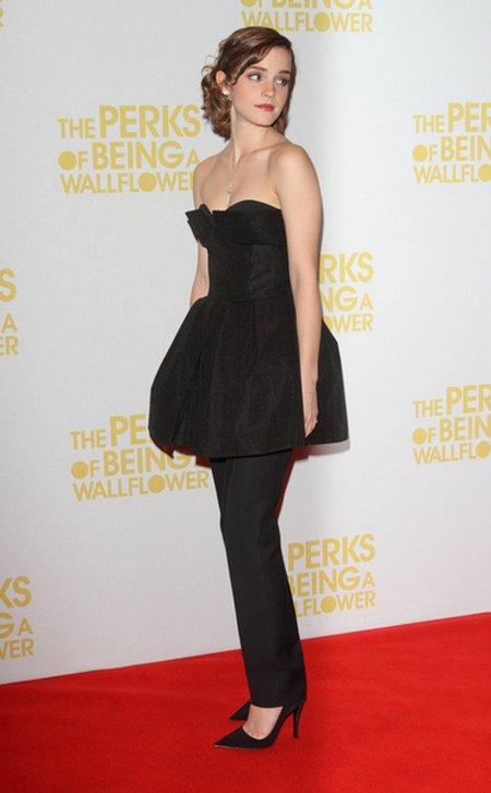 Emma Watson w zestawie Christian Dior (FOTO)