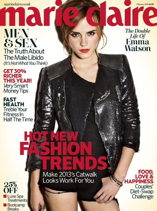 Emma Watson w Marie Claire