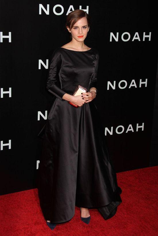 Emma Watson przyćmiła inne gwiazdy na premierze filmu (FOTO)