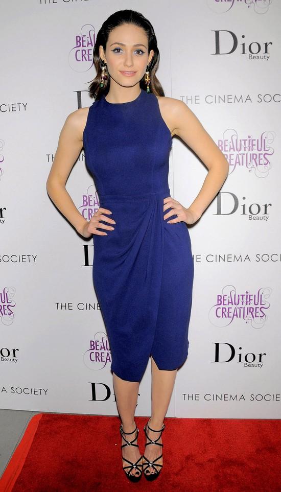 Emmy Rossum w projekcie Christiana Diora (FOTO)