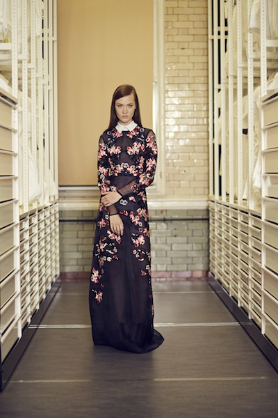 Kobieca kolekcja Erdem Pre-Fall 2014 (FOTO)