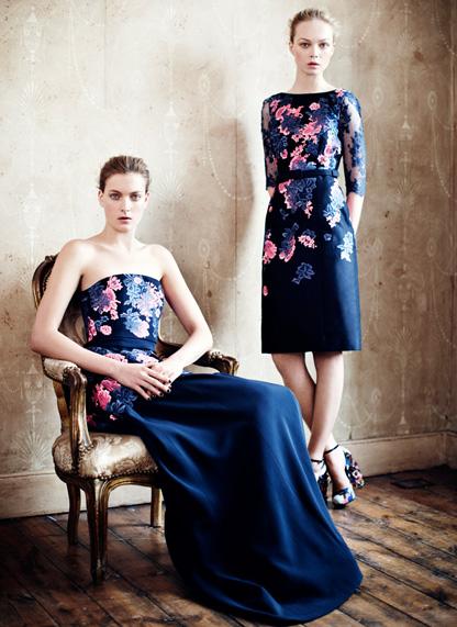 Jessica Chastain w kwiecistej sukience Erdem (FOTO)
