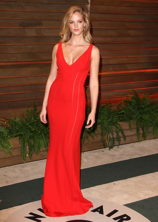 Modelki na afer party Vanity Fair po rozdaniu Oscarów 2014