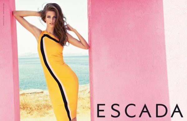 Wiosenno-letnia kampania marki Escada