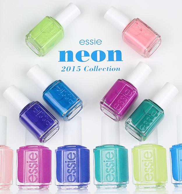 Neonowe lakiery do paznokci na lato 2015 od Essie (FOTO)