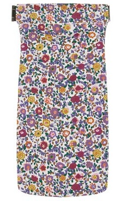 okulary, etui, kwiaty, floral print, forever21