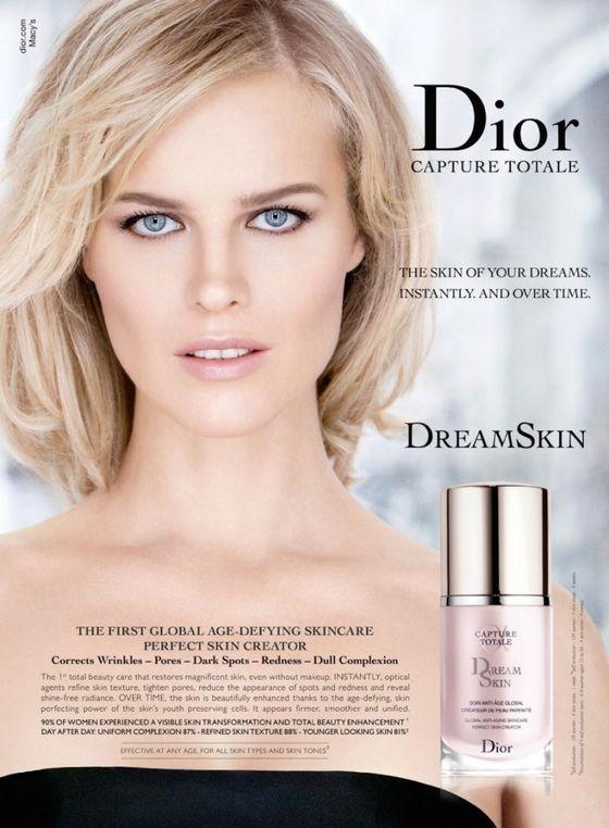 Eva Herzigova twarzą nowego podkładu marki Dior (FOTO)