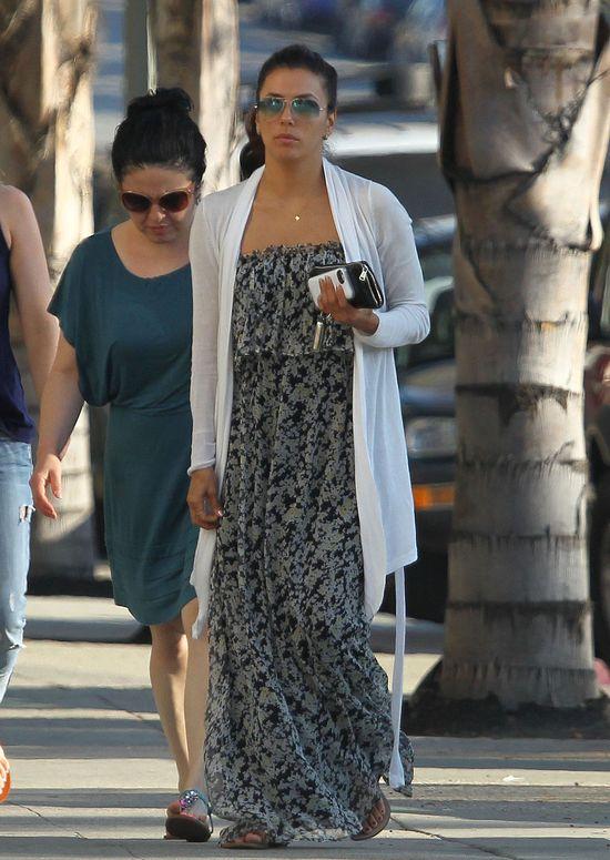 Eva Longoria w długiej sukience (FOTO)