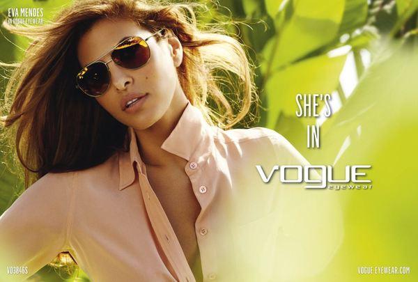 Eva Mendes w kampanii Vogue