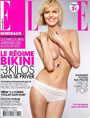 Eva Herzigova dla Elle France