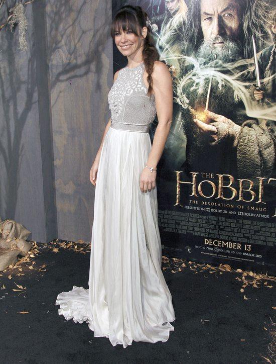 Evangeline Lilly na premierze Hobbita (FOTO)