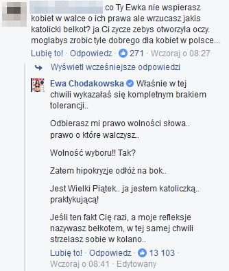Nie, Ewa Chodakowska nie ma spokoju nawet w święta... Awantura na FB musi być