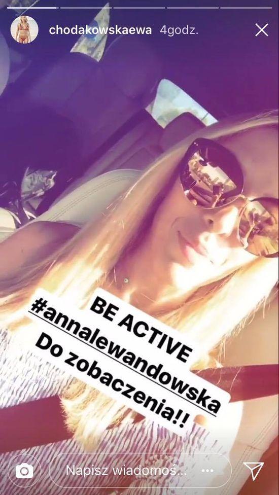 Anna Lewandowska pokazuje jak ćwiczy z... Ewą Chodakowską! A odpowiedź Ewy...