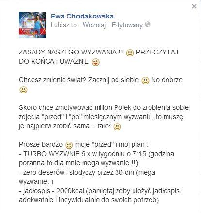 Ewa Chodakowska chce zmian w swoim wyglądzie (FOTO)