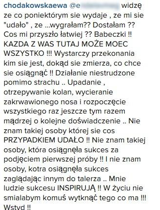 To zdjęcie wywołało burze na Instagramie Ewy Chodakowskiej