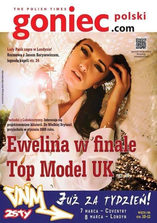 Polka w finale brytyjskiego Top Model 2014! (FOTO)