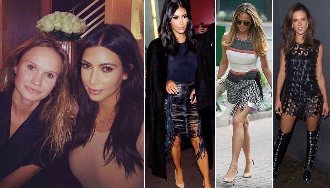 Magda Butrym o tym, jak zaczepiła ją sama Kim Kardashian