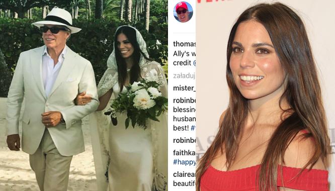 Padniecie z wrażenia jak zobaczycie suknię ślubną córki Tommy'ego Hilfigera!