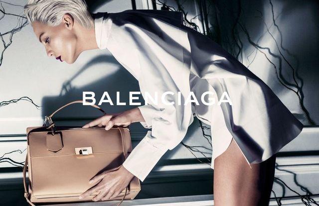 Daria Werbowy w kampanii Balenciaga na wiosnę-lato 2014