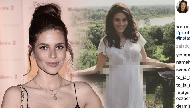 Weronika Rosati pokazała na Instagramie ciążowy brzuszek (FOTO)