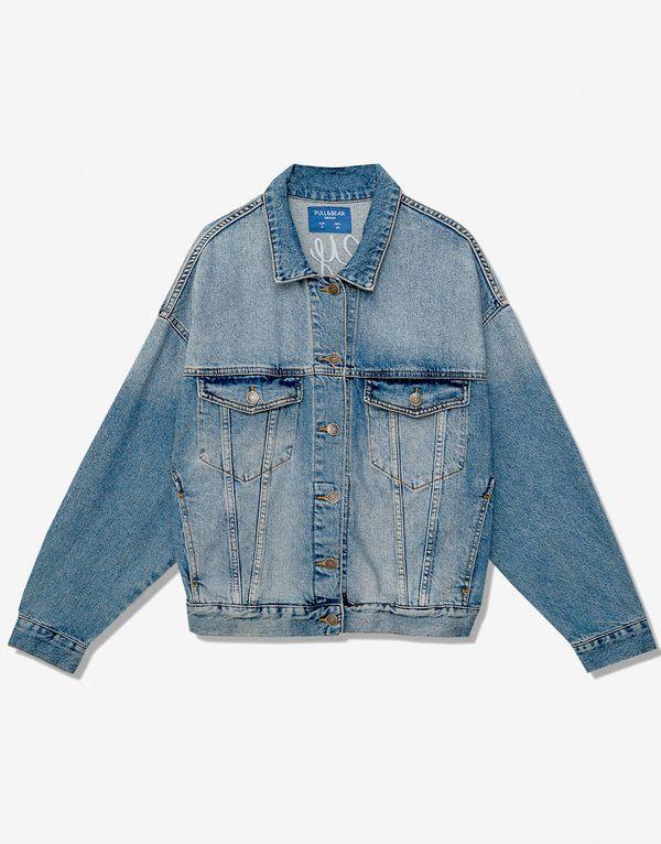 Oversize'owa jeansowa kurtka – must have na wiosnę 2017!