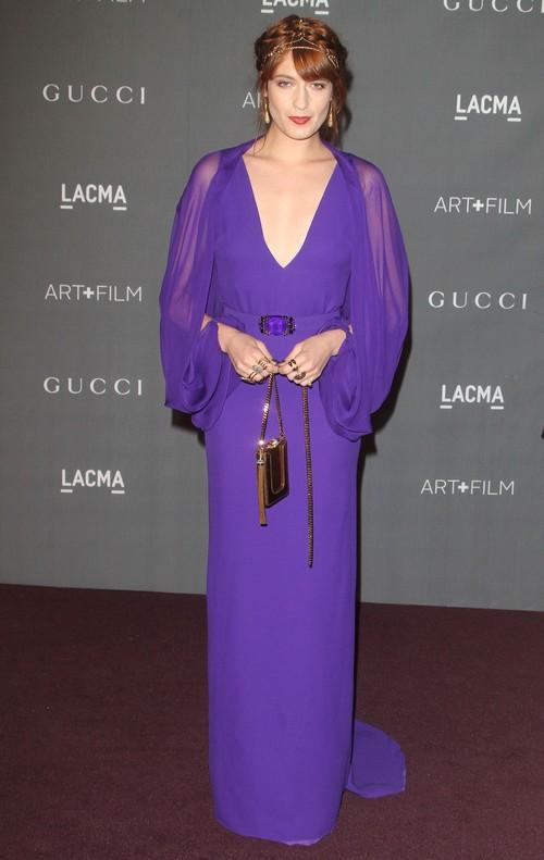 Florence Welch na czerwonych dywanach