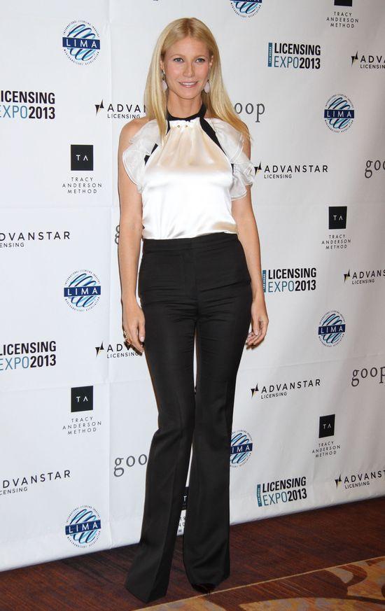 Perfekcyjnie szczupła Gwyneth Paltrow na czerwonym dywanie