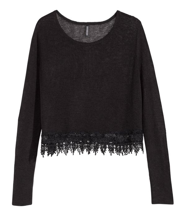 Swetry, sweterki, kardigany... - przegląd oferty H&M