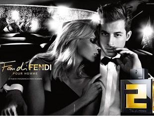 Anja Rubik i Mark Ronson. Nowa kampania perfum Fan di Fendi.
