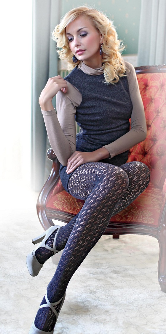 Kolekcja eleganckich rajstop od Conte