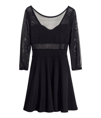H&M Divided Black - nowe trendy