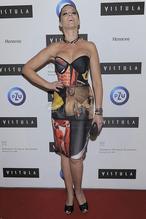 Ilona Felicjańska w odważnej sukience