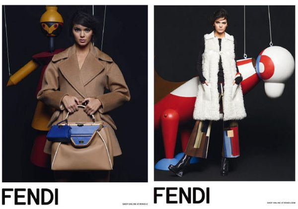 Kendall Jenner nową twarzą marki Fendi! (FOTO)