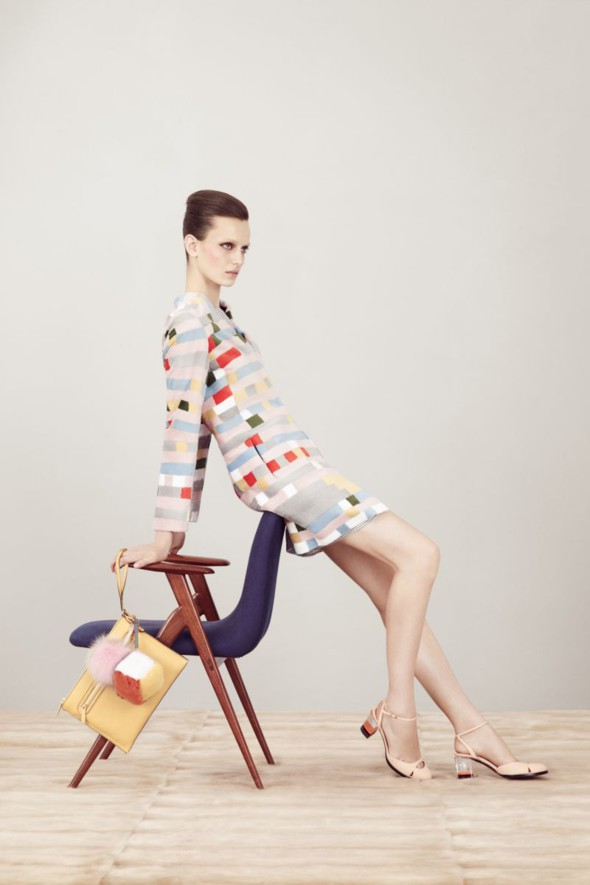 Fendi kolekcja wiosna-lato 2013