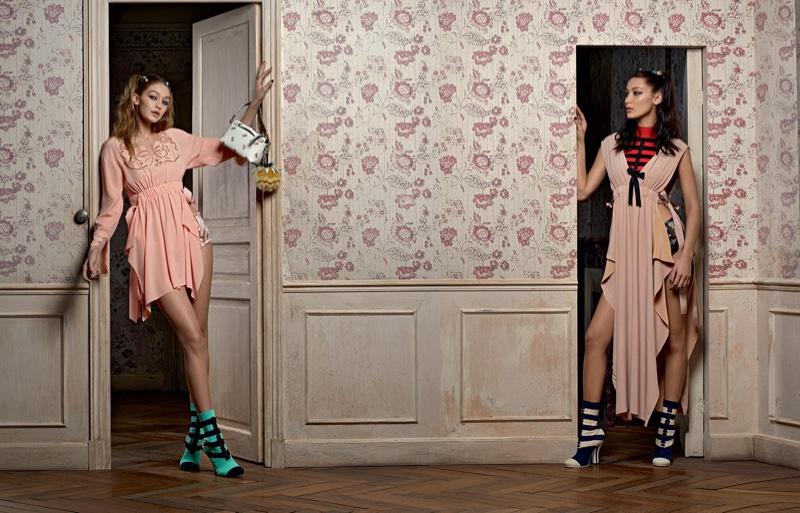 Tak! To zdecydowanie najlepsza wspólna kampania Belli i Gigi Hadid (FOTO)