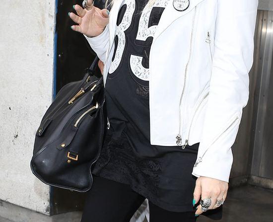 Ciążowy luz Fergie (FOTO)