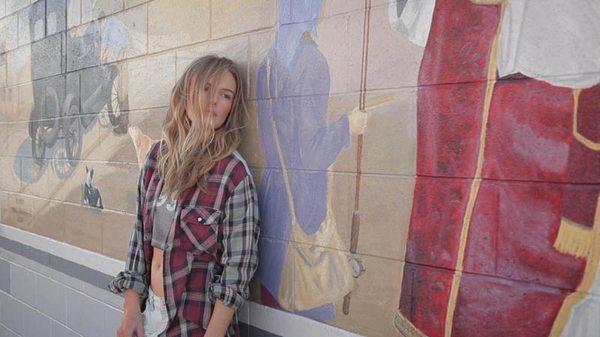 Kate Bosworth w kampanii Topshop