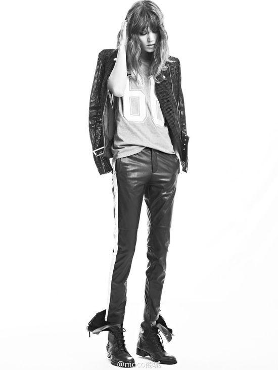 Freja Beha Erichsen ponownie dla MO&Co. - wiosna-lato 2014
