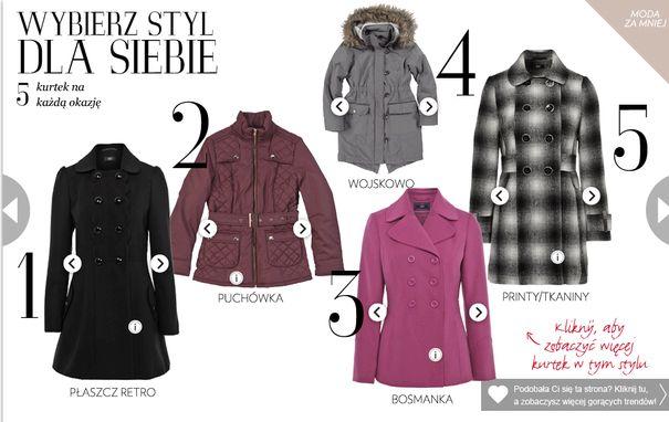 F&F - trendy jesień/zima 2012/2013