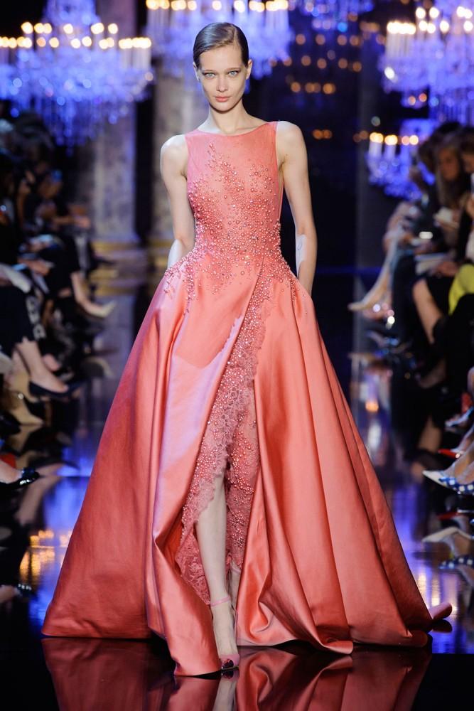 Elie Saab Haute Couture - kolekcja na jesień/zimę 2014