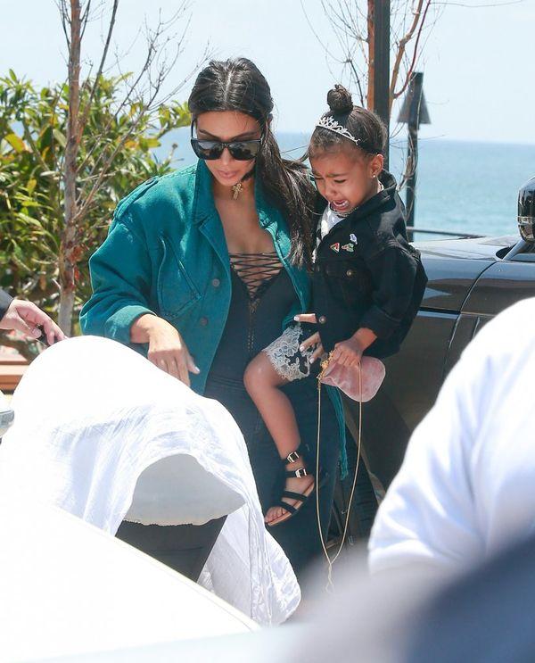 Kim Kardashian pokazała najnowsze zdjęcie Sainta Westa!