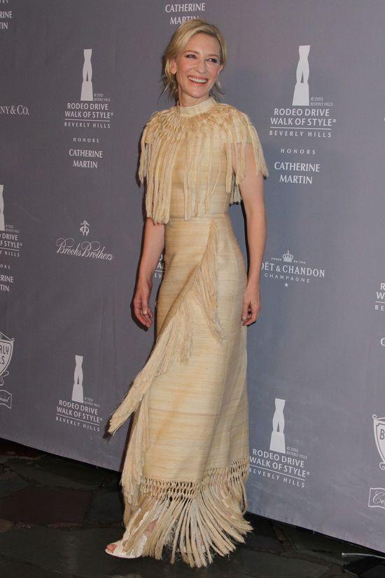 Cate Blanchett na czerwonym dywanie