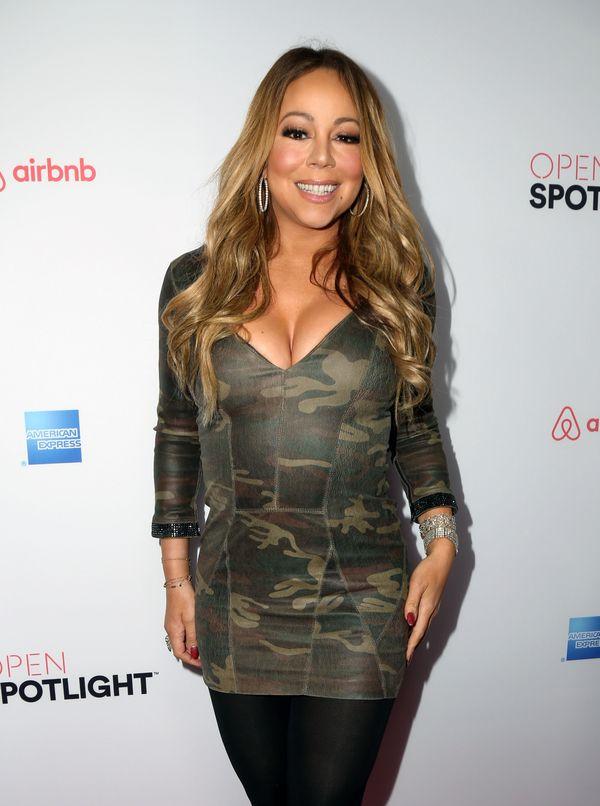 Co?! Mariah Carey pali suknię ślubną za 250 TYSIĘCY dolarów!!! [VIDEO]