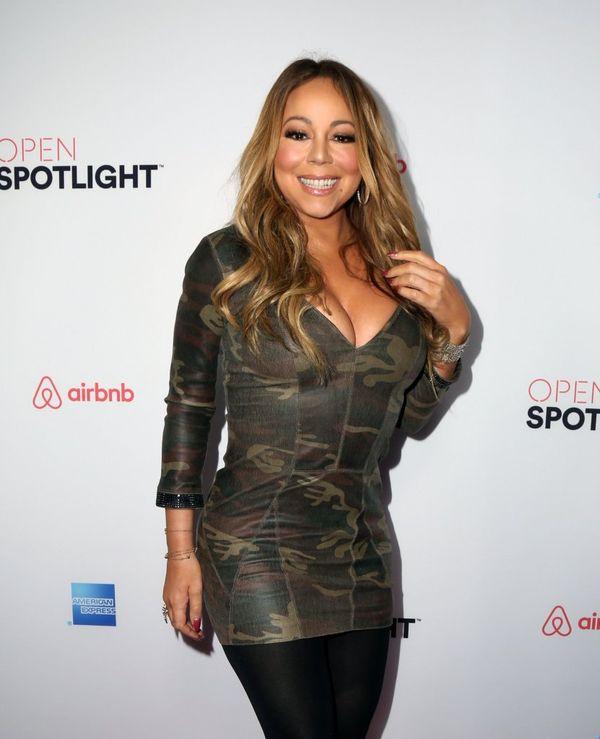 Omg! Mariah Carey musiała być bardzo zmęczona, gdy wróciła do domu...