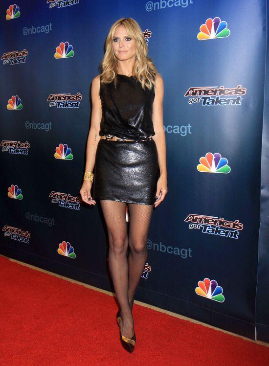 Heidi Klum i Mel B w America's Got Talent (FOTO)