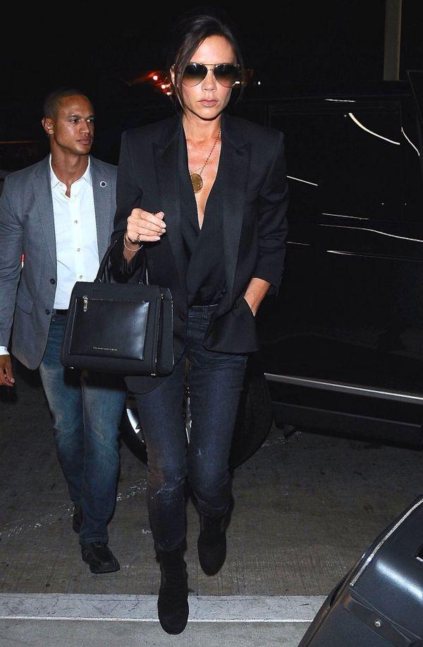 Victoria Beckham pokazuje, jak wytrzymałe są jej ubrania